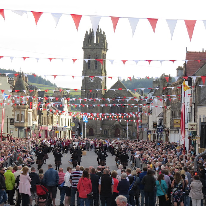 Peebles Beltane | Saturday - Red Letter Day @ War Memorial | Peebles | United Kingdom